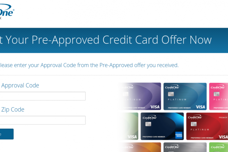 Credit One Bank Accept